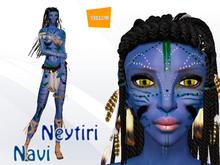 Neytiri Navi Avatar-Yellow