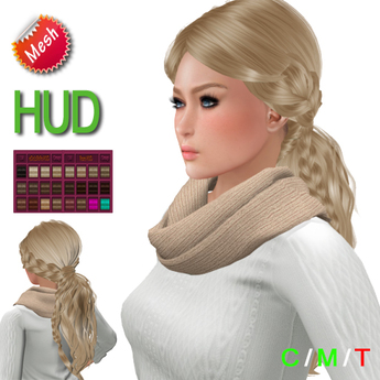 "eDeLsToRe woman mesh hair "" Virginia "" BOX"