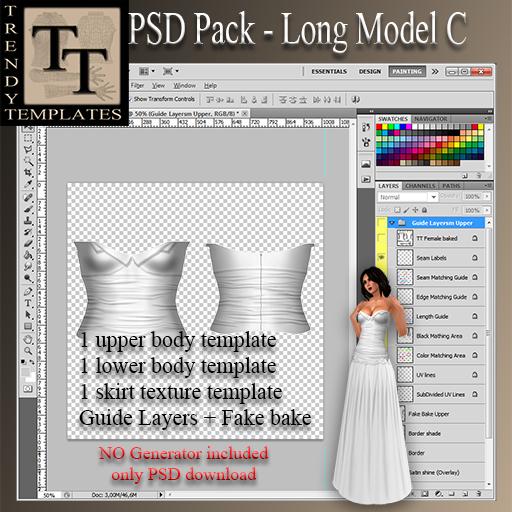 .:TT:. PSD Pack Long Model C