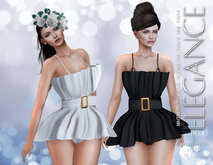 "Elegance Boutique - Dress & (Lingerie with HUD) ""Cassi""-DEMO - Maitreya/Slink/Belleza Freya Isis Venus"