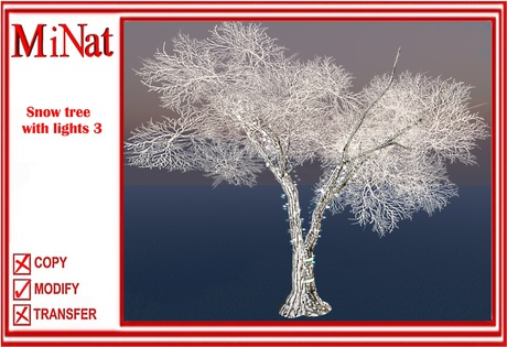 MN Snow tree with lights 3