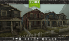 DERELICT - Two Story Town House - BOXED