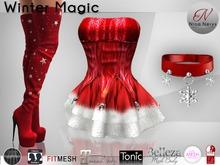 Nina Nerys - Winter magic Red