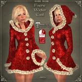 DEMO Faerie Winter Coat by Caverna Obscura - Maitreya, SLINK Physique elf,elven,fantasy,fae,faerie,fairy,pixie,christmas