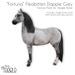 """[Teegle] """"Fortuna"""" Fleabitten Dapple Grey Skin for Teegle Horse"""