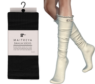 Maitreya Dahlia Socks * Black