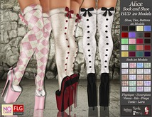 :: No Cabide :: Alice_ Sock and Shoe HUD20 Models