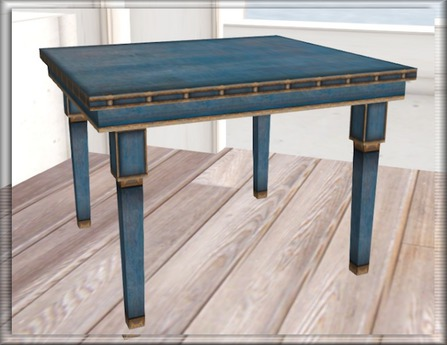 Simple Things: 1 Prim Mesh Table