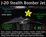 J-20 Stealth Bomber Jet - MESH