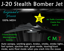 J-20 Stealth Jet (mesh) v.1.5 [BOX]