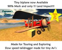 Firecracker biplane (tiny) v.1.5