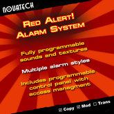 Red Alert! Alarm System