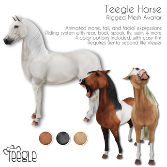 Teegle Horse Bento Avatar
