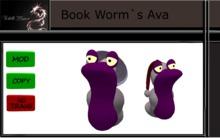Book- Worm`s  Lady Avatar