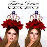 Christmas Queen Crown 2 versions - Fashion Dream