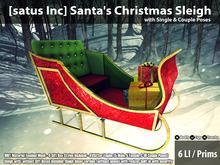 [satus Inc] Santa's Christmas Sleigh