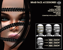 [Since1975] Braid Face Accessories & HUD