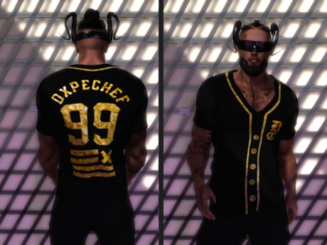 Second Life Marketplace - Persian. Dxpe Chef Jersey Aesthetic