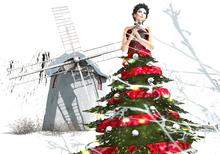 [in] Sanity Dress  Christmas tree