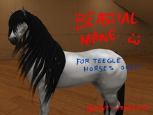 :Beast Creations: - Bestial mane - for teegle horse