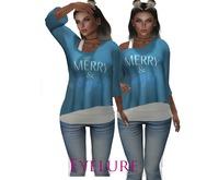 Eyelure Double Tee  MerryBlue