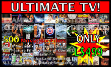 MovieMix #X - 50 Full Feature Film Movies - Best Movie DVDs