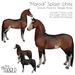 "[Teegle] ""Marodi"" Splash White Skin for Teegle Horse"