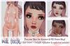 milk teeth. PRECIOUS Skin Mod for M3 Venus head & Kemono - EYEBROWS & EYELASHES INCLUDED