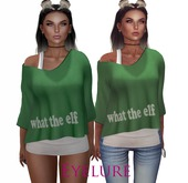 Eyelure Double Tee   What the Elf   Green