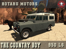 HOTARU MOTORS - The Country Boy [BOX]