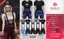 Ibela Store - Jumpsuit and Shirt Alexia Maitreya