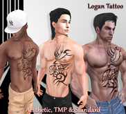[Gift] Logan Tattoo (Aesthetic, TMP & Standard Avatars)
