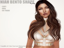 Shapes by Sonya - Niah bento shape