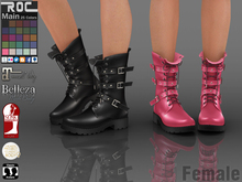 ::ROC:: Combat Boots (FEMALE)