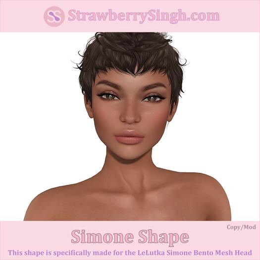 StrawberrySingh.com Simone Shape