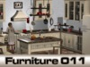 Traditional Kitchen Modesty - PG - 108 animations, 60 props