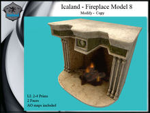 Icaland - Fireplace Model 8