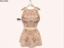 Paz Dress (W/HUD) SlinkP&H-BellezaFIV-Maitreya-TPM .:Eclipse:.