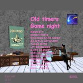 Mesh Old-Timers Game night out set (crate)