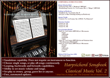 Harpsichord Songbook - Classical Music Vol. 2 ($275 on sale for $99!)