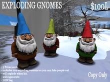 Exploding gnomes