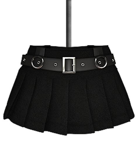 DE Designs - Renee Skirt - Black Fabric