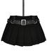 De designs renee skirt black fabric m