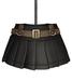 DE Designs - Renee Skirt - Black Leather