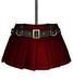 DE Designs - Renee Skirt - Red Leather