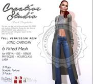 - CREATIVE STUDIO - Long Cardigan DEMO