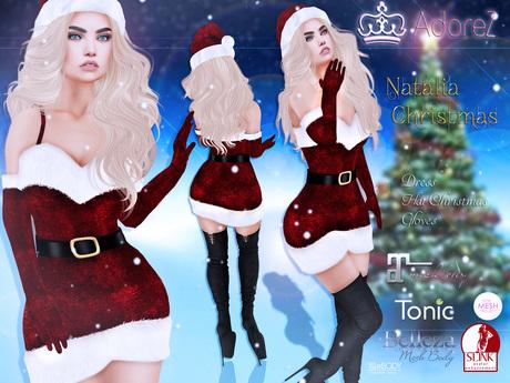 AdoreZ-Natalia Dress  Christmas