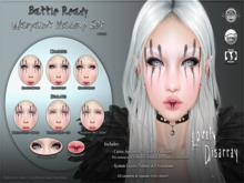 Lovely Disarray - Battle Ready : Warpaint Makeup Set [Unisex]