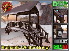 Romantic Winter Bridge / Single and Couple Animations