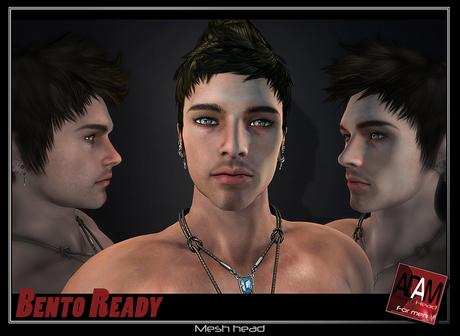 Adam Mesh Head   - beta1 + BENTO